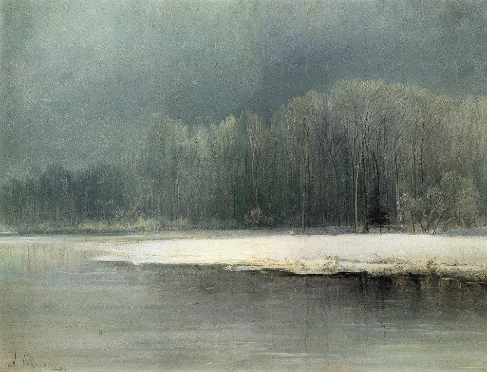 Шедевры русской пейзажной живописи xix