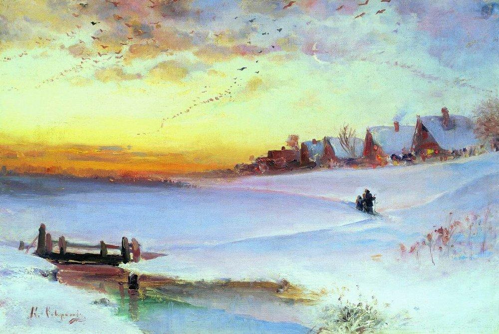 Русской пейзажной живописи xix века