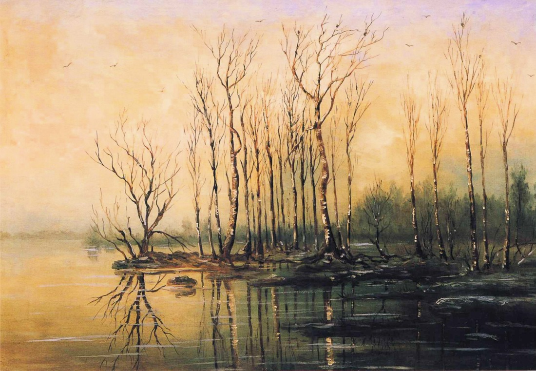 Картинки пейзажа ранней весны